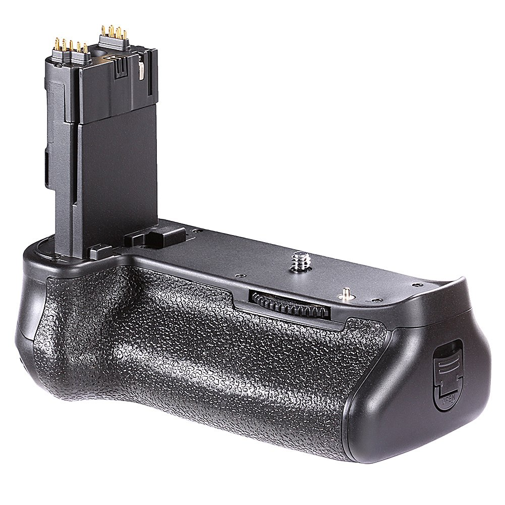 Neewer Vertical Multi-Power Battery Grip(replacement for Canon BG-E13) for Canon EOS 6D, uses one or two LP-E6 battery packs or six AA Batteries(Batteries NOT included) 10039702