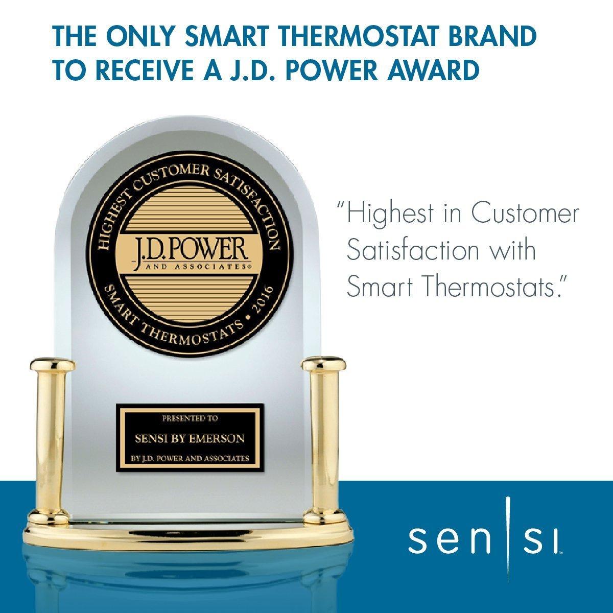 emerson sensi wi fi thermostat 1f86u 42wf for smart home emerson sensi wi fi thermostat 1f86u 42wf for smart home amazon com