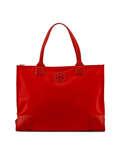 87763c688f20 Image Unavailable. Image not available for. Color  Tory Burch Ella Packable  Tote Nylon TB Logo