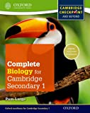Complete Biology for Cambridge Secondary 1 Student Book: Thorough Preparation for Cambridge Checkpoint - Rise to the Challenge of Cambridge IGCSE (Cie Checkpoint)