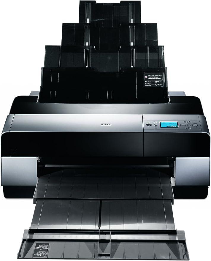 Epson Stylus Pro 3800 - Impresora de Gran Formato (2880 x 1440 dpi, A2 (420 x 594 mm), 47 dB, AC 110-120 V, 5 W, 25 W): Amazon.es: Informática