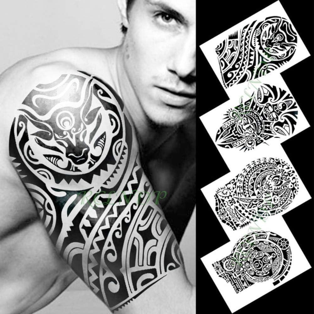 tzxdbh Etiqueta engomada del Tatuaje Temporal Impermeable Estilo ...