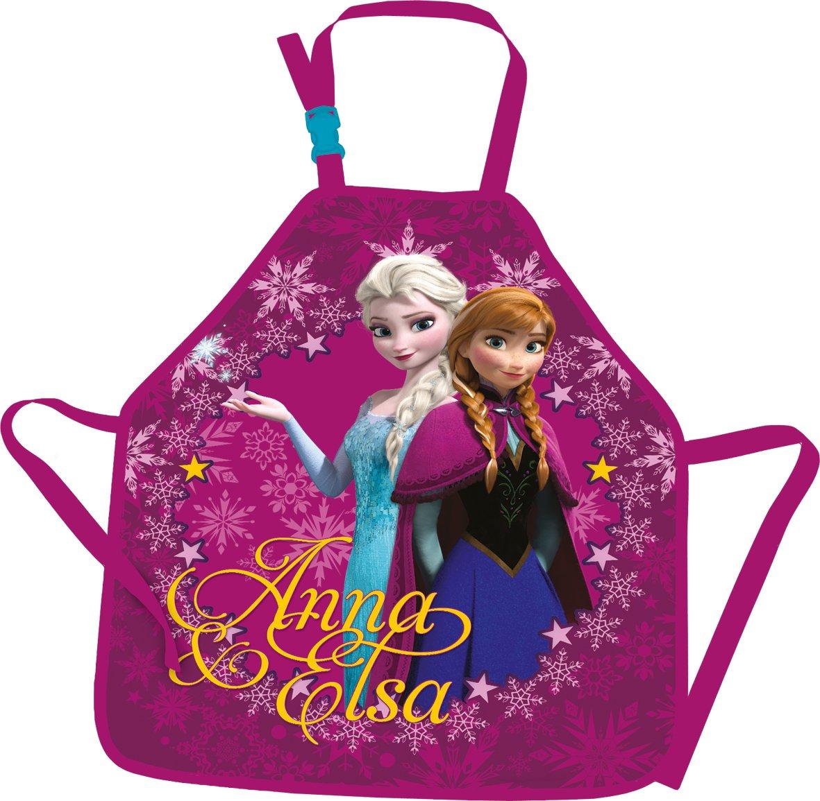 Kinder - Frozen - Anna - Elsa - Eiskö nigin - lila Malschü rze - Mal Schü rze - Schule - Kindergarten - Schü rze - ca. 56 x 31 cm schnäppchenmarkt111 Frozen - 1
