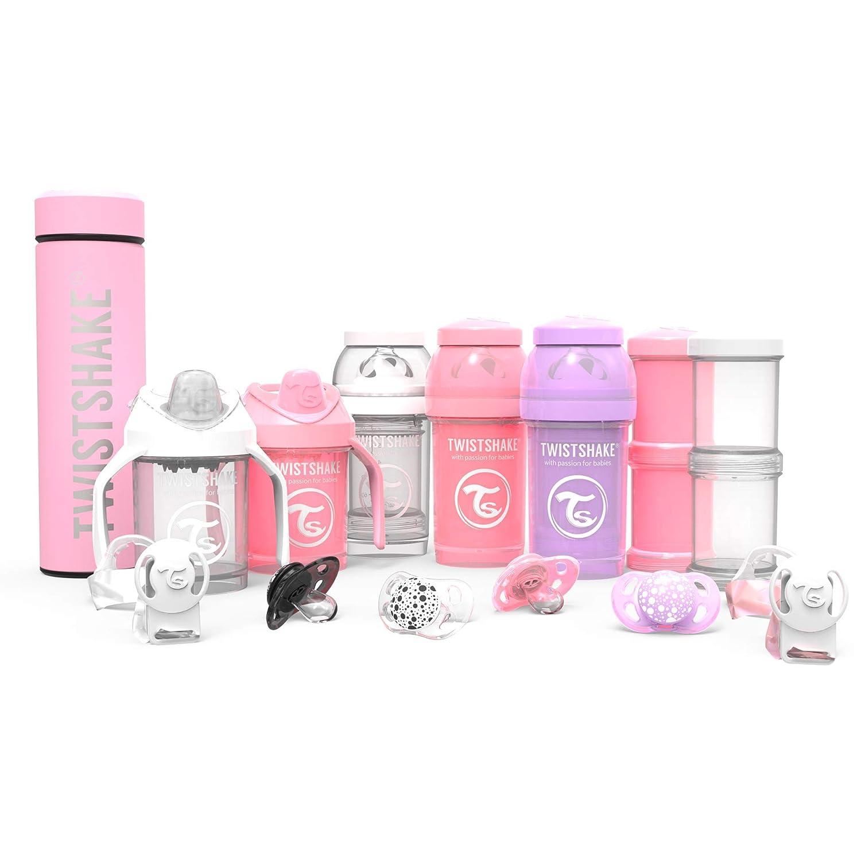 Amazon.com: Twistshake - Set de 3 botellas de bebé ...
