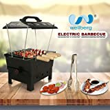 "Wellberg Electric & Charcoal Barbeque ( 2 In 1 Bbq) ""Multi Purpose"""