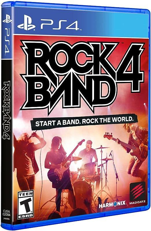 Mad Catz Rock Band 4, PS4 PlayStation 4 Italiano, Francés, Alemán ...