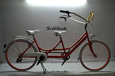 Bicicleta Modelo Custom Super Tandem 28 100% Made in Italy: Amazon ...