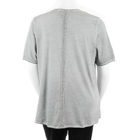 ab2e6b9e2 LEAH CURVE T-Shirt imprimé Grande Taille Femme avec Empiècements ...
