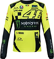 Valentino Rossi VR46 Moto GP Monster Long Sleeve T-Shirt Official 2019