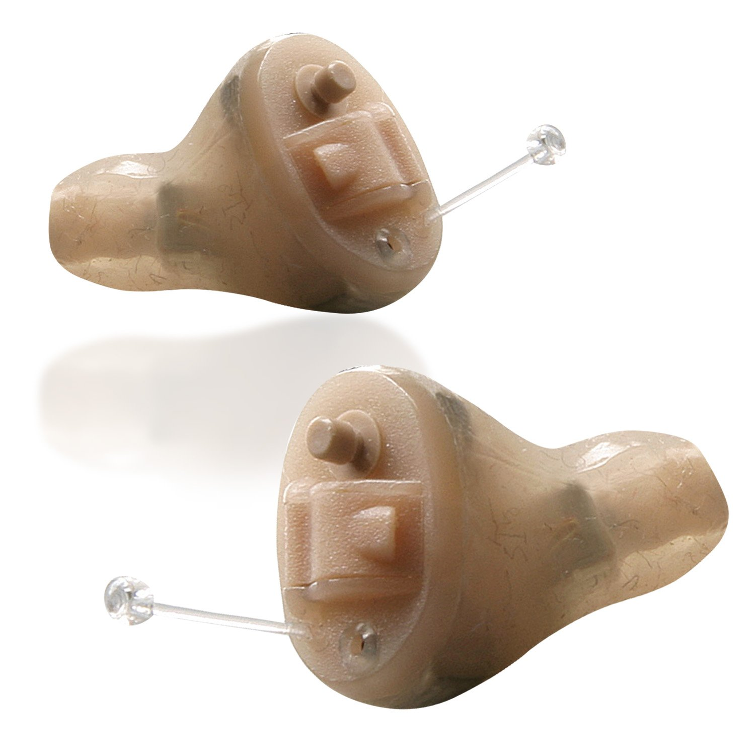 General Hearing Instruments Hearing Aid Simply Soft Smart Touch Pair, Beige