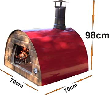 Mobile / Portable Wood Fired Pizza Oven U0026quot;Maximusu0026quot; ...
