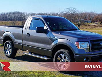 2009-2014 Ford F150 CREW   Stainless Steel Chrome Pillar Posts Trim QAA PP44308