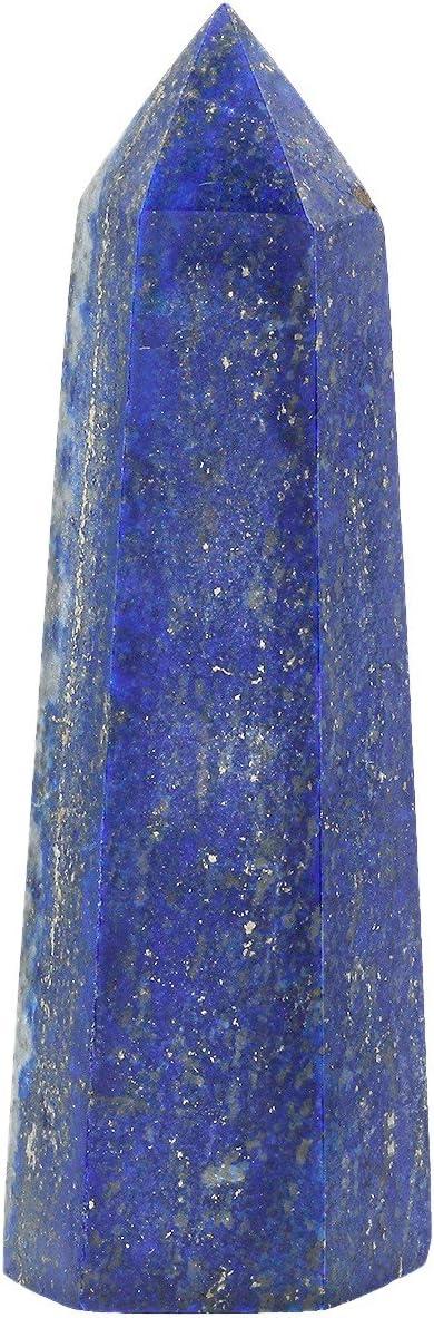 mookaitedecor Cristal de Roche Colonne Cristal Naturelle Pierre Baguette Point,Pierre Guerison pour M/éditation D/écoration