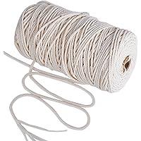 200m Cuerda Cordel de Algodón Hilo Macramé, 3