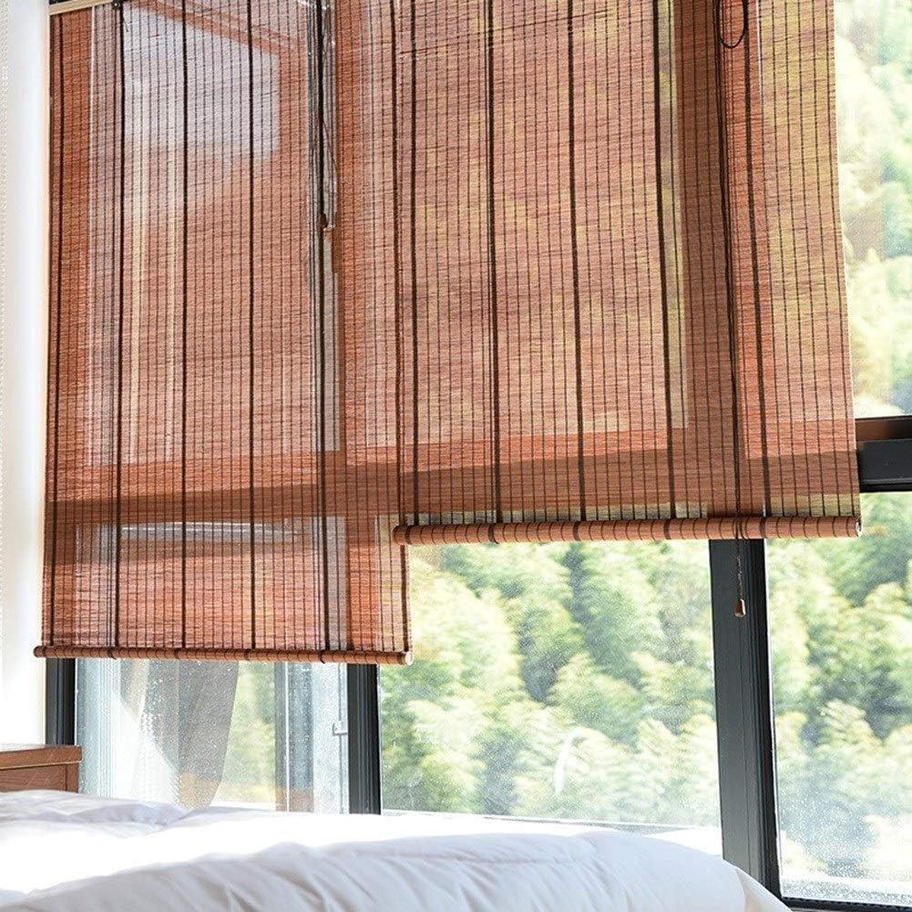 Persiana de bambú Persianas/Cortinas Enrollables Interiores ...