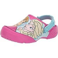 Crocs Girl's Fun Lab Anna Elsa Clog