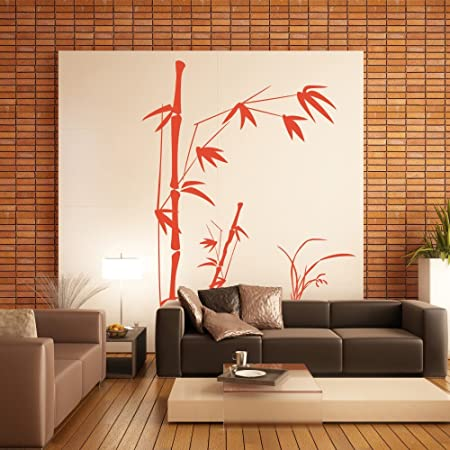 Vinyl Bamboo Wall Decal Bamboo Decal Quotes Tree Wall Decal Grass