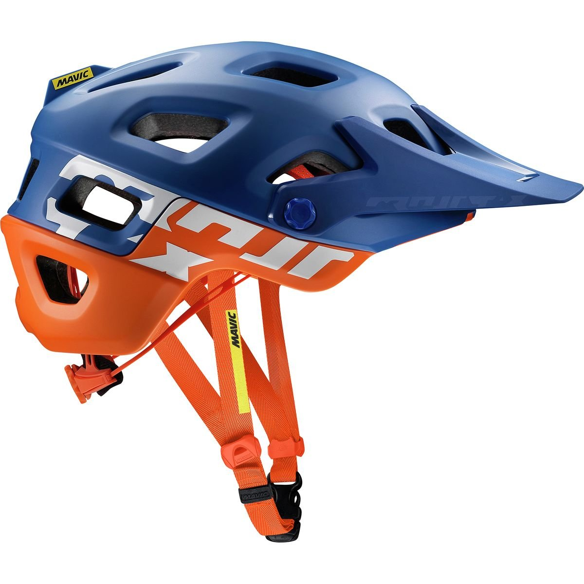 Mavic Crossmax Pro MTB Fahrrad Helm blau Orange 2018