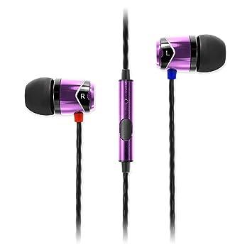 SoundMAGIC E10S - Auriculares in-ear (reducción de ruido), morado ...