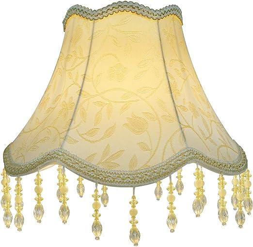 Eastlion Pantalla para lámpara UNO hecha a mano, retro, creativa para lámparas de mesa, lámparas de pie, 15 x 30 x 22 cm: Amazon.es: Hogar
