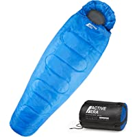 Professional 300 Mummy Sleeping Bag 3-4 Season for Camping, Hiking, Outdoors