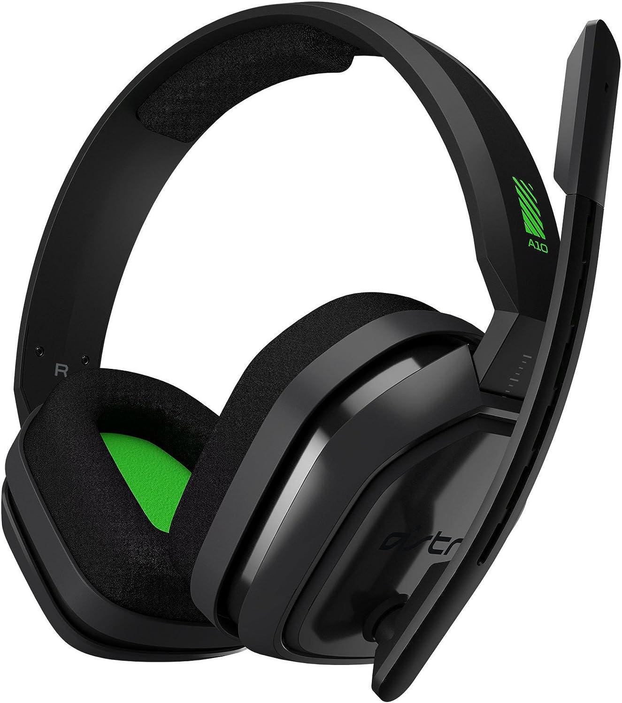 ASTRO GAMING - A10 Headset Grey/Green XBOX1-3AH10-XOX9Y-600 ...