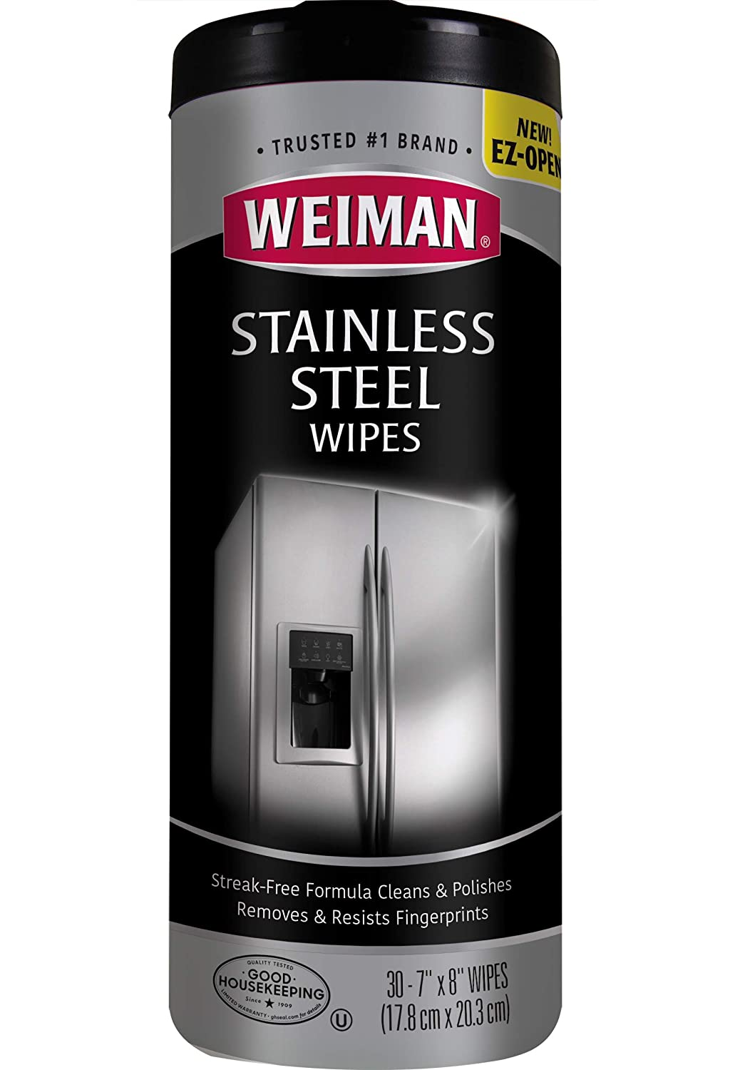 Weiman Stainless Steel Canister Wipes