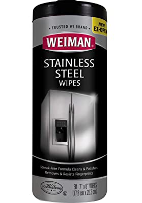Weiman Stainless Steel Cleaning Wipes