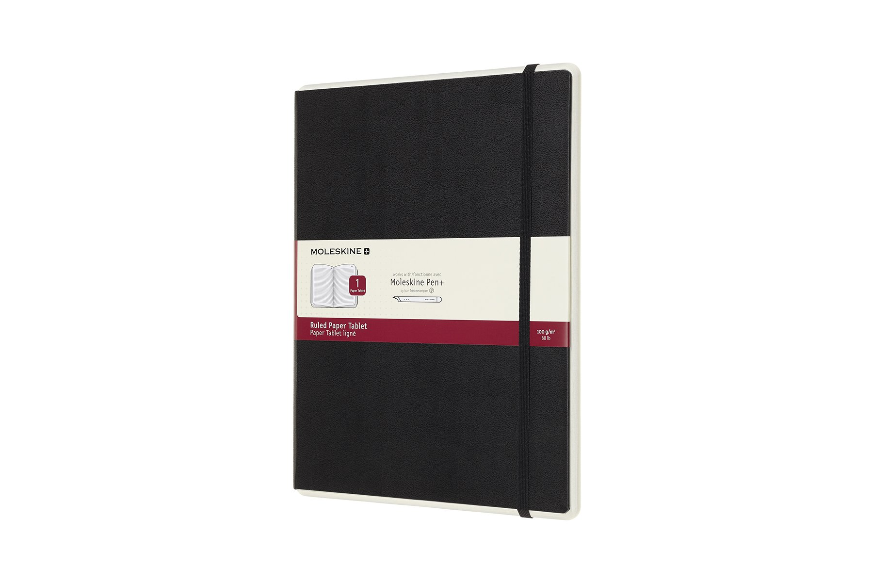 Moleskine Paper Tablet Hard Cover Smart Notebook, Rul ()