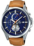 Casio Edifice Analog Blue Dial Men's Watch - EFV-520L-2AVUDF (EX350)
