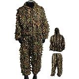 Amazon.com: DoCred Ghillie - Traje de camuflaje de hojas en ...