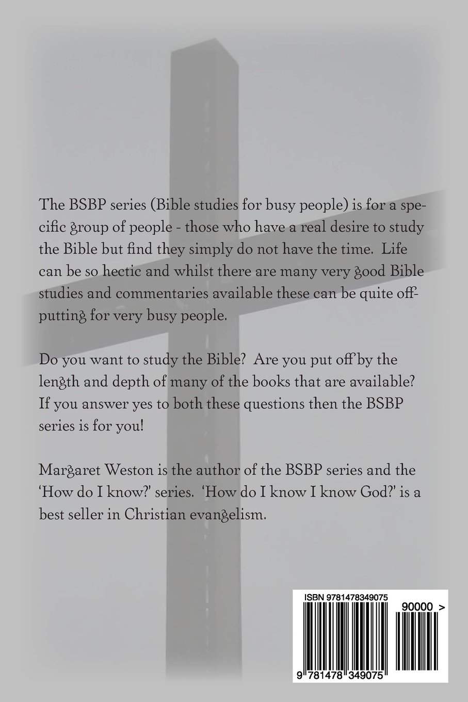 JOB BIBLE STUDY (BSBP SERIES Book 18)