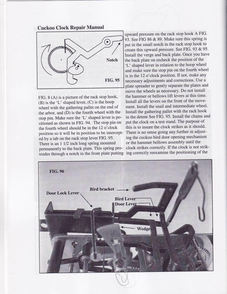 The Cuckoo Clock Repair Manual  Book: William J Bilger: Amazon: Books