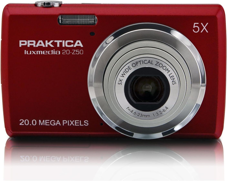 Praktica 256025 Luxmedia 20 Z50 Digitalkamera 2 7 Zoll Kamera