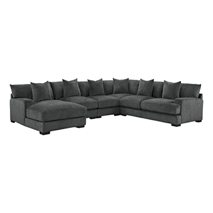 Amazon.com: Homelegance Worchester Modular Sectional Sofá ...