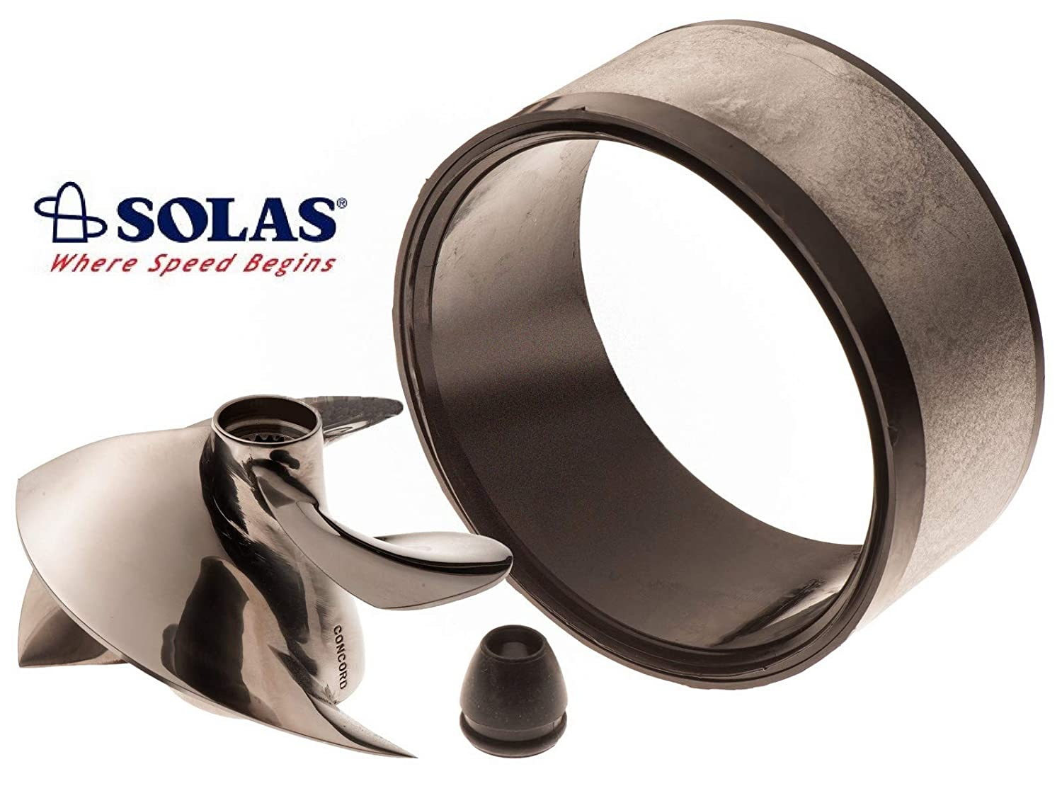 Amazon.com: Solas Sea Doo impulsor sd-cd-15/23 con anillo de ...