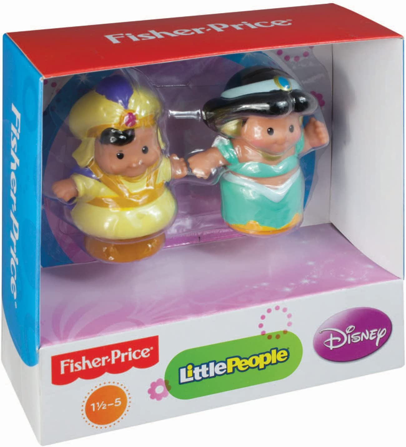 Fisher-Price Little People Disney 2 Pack: Jasmine and Aladdin: Amazon.es: Juguetes y juegos