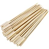 Natural Bamboo Double Skewers 9 Inch 25 Piece RSVP BOO-P