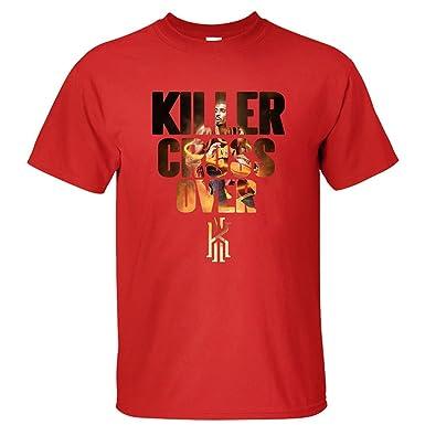 19a15d97b AdamimyClay® BMWW Men's Killer Cross Over Kyrie Irving Logo Cleveland  Cavaliers #2 T Shirt