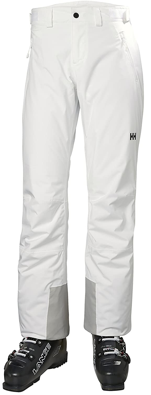 001 blanc L Helly Hansen W Snow Star Pantalon de Ski Femme