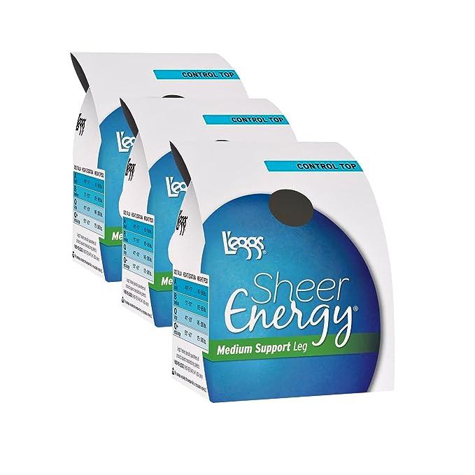 179c3b93fe3 L eggs Women`s Set of 3 L`eggs Sheer Energy Control Top ST - Best ...