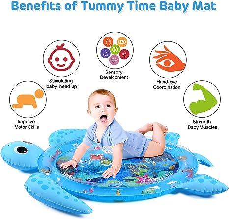 Amazon.com: MAGIFIRE - Alfombrilla hinchable para bebé con ...
