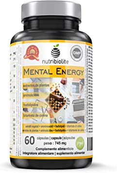 Mental Energy Nootrópico Natural Potenciador Cognitivo, Incrementa ...