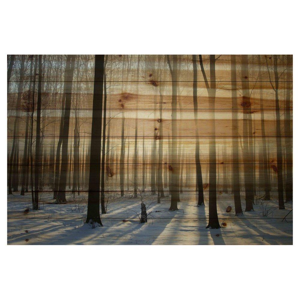 Parvez Taj Papineau Painting Print on Natural Pine Wood -