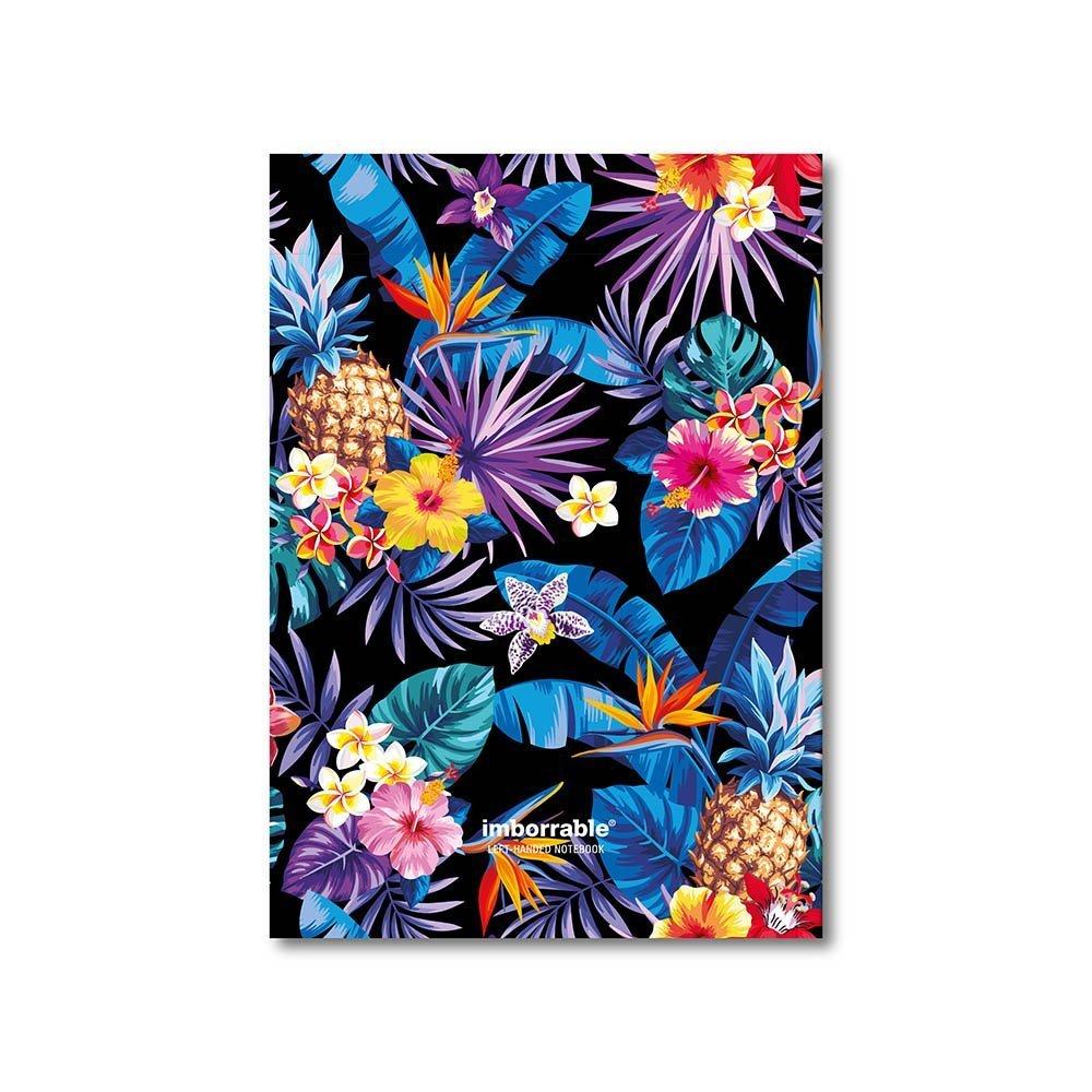 imborrable hawaiano–Quaderno per mancini, 144pagine, formato A5, 14.8x 21cm 0501066