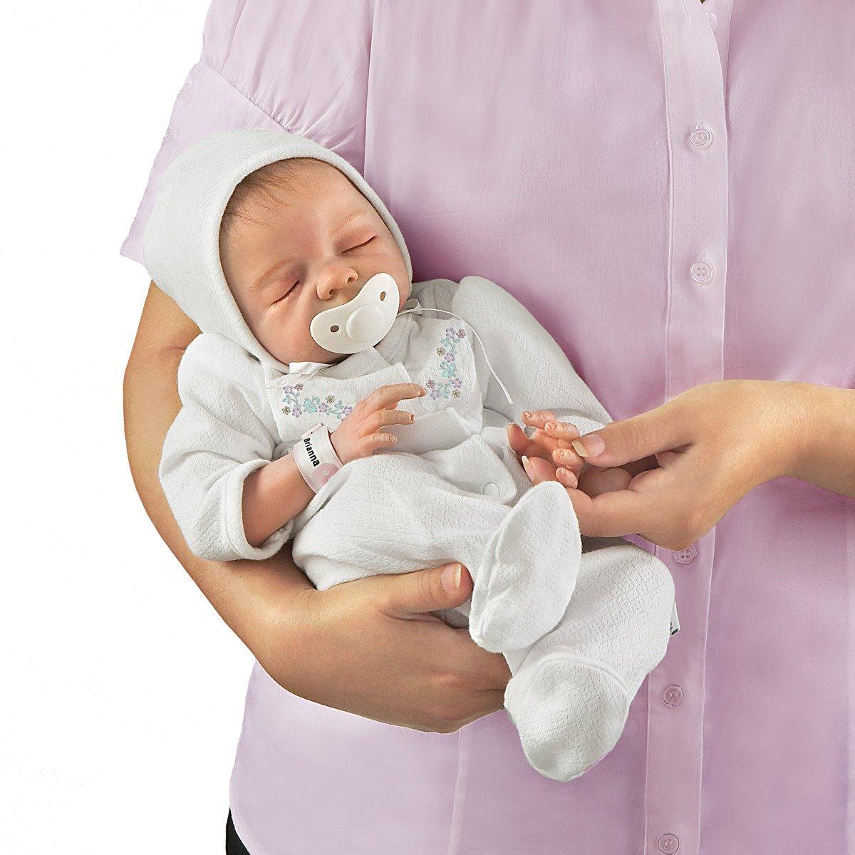 Ashton Drake - Feliz - Muñeca bebé recién nacida con ...