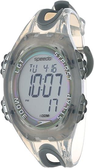 Colonial Bonito italiano  Amazon.com: Speedo Men's SD50556BX 50-Lap Silicone Strap Watch: Speedo:  Watches