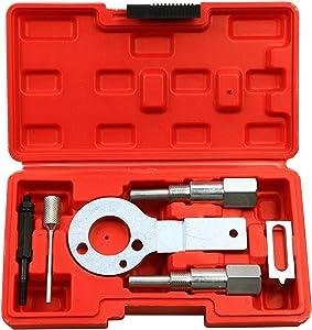 Highking Tool Diesel Timing Locking Kit for GM Vauxhall Opel SAAB Alfa Romeo Engines 1.9/2.0 CDTI
