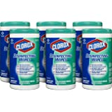 Clorox Disinfecting Wipes Commercial Solutions, Fresh Scent, 75 count (Pack of 6)