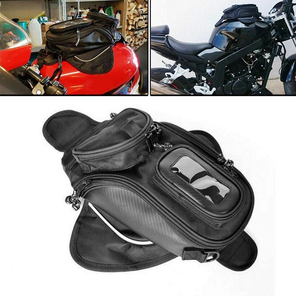 nero universale moto da moto che guida forte olio magnetico borsa serbatoio carburante bagaglio impermeabile Borsa da moto
